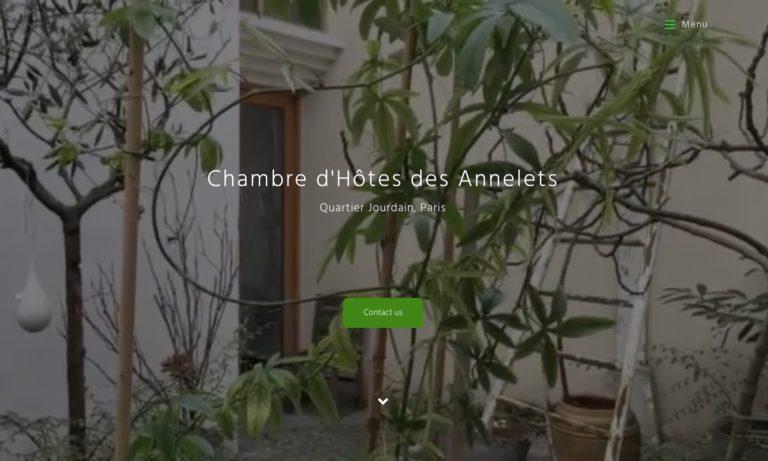 Site Chambre d'hôtes